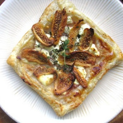 Fig and Goat Cheese Tarts