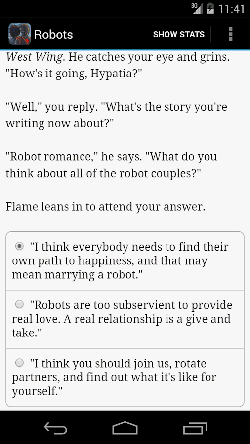 Choice of Robots Screenshot 4