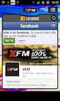 Screenshot of XFM