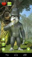 Screenshot of Talking Gary Gorilla