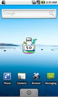 Screenshot of RainbowBattery