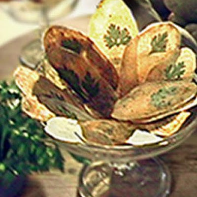 Parsley Potato Chips