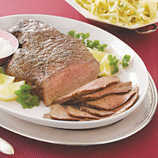 London Broil with Horseradish Sauce