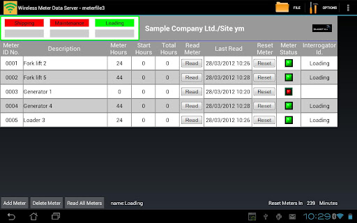 Wireless Meter Data Server