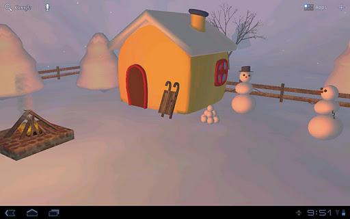 Snowmans Lodge 3D Free ver.
