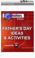 Screenshot of Father's Day Activities
