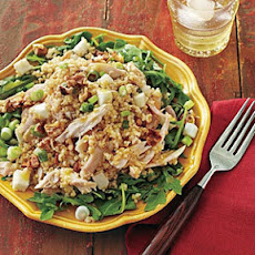 Bulgur Salad with Apples and Chicken