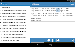 Screenshot of Inglese basico 2