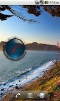 Screenshot of Transparent Analog Clock