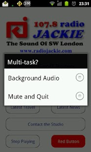 107.8 Radio Jackie - screenshot