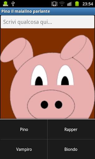 Pino the Talking Pig