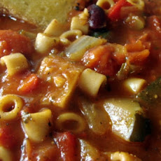 Halloween Vegetable Soup