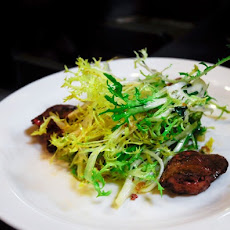 Frisée Salad with Duck Livers