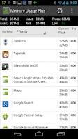 Screenshot of Memory Usage Plus
