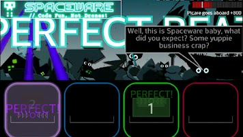 Screenshot of FLOW - A Space Drum Saga