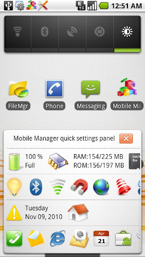 mobile-manager for android screenshot