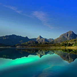 by Bente Agerup - Landscapes Mountains & Hills ( hills, mountains, nature, lakes, reflections )