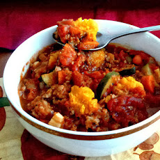Turkey Chili with Butternut Squash, Touchdown Chili