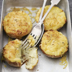 Rarebit Baked Potatoes