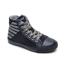 Armani Junior Zip High Top HIGHTOP