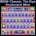 Classic Tie Dye Keyboard skin icon