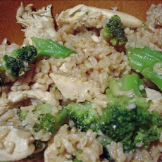 Teriyaki Chicken and Brown Rice