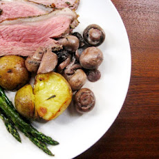 Sunday Supper: Butterflied Leg of Lamb