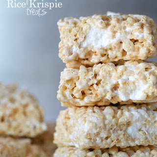 Perfect Rice Krispie Treat