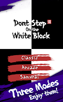 Screenshot of Don't step on the white block