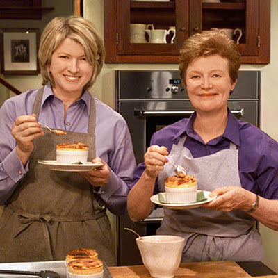 Whole Tangerine Souffle with Anne Willan