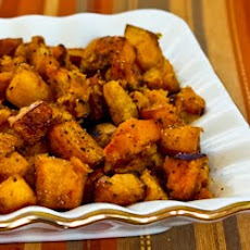 Roasted Butternut Squash with Rosemary and Balsamic Vinegar