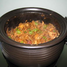 Clay Pot Rice With Chicken