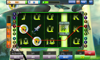 Screenshot of Rainbirth Casino Slot Machine