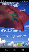 Screenshot of 3D Morocco Flag LWP +