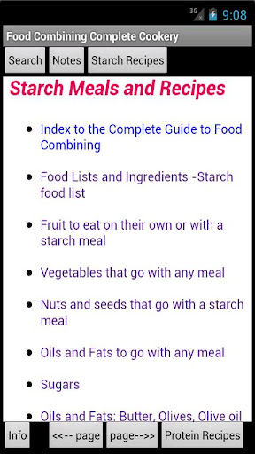 Food Combining Complete Guide