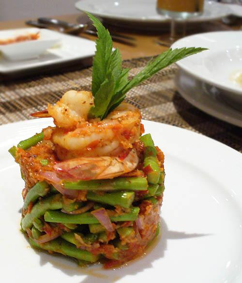 Kerabu Asparagus @ Enak KL - Malaysia Food & Restaurant Reviews