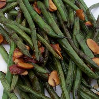 Simply-Delicious Tamari Almond Green Beans