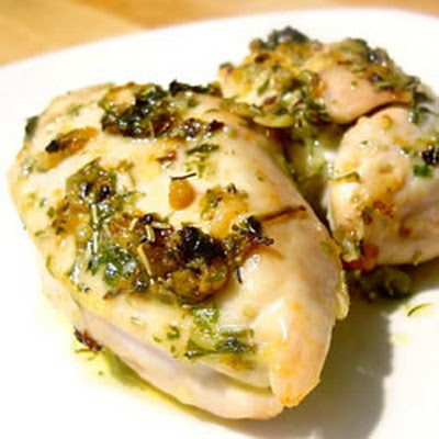 Broiled Herb Butter Chicken