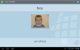 Screenshot of Z_L-Lingo Learn Spanish HD Fr