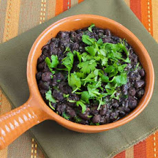 Slow Cooker Black Beans with Cilantro