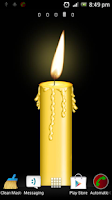 Screenshot of Candle Flame Live Wallpaper