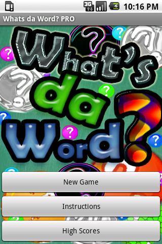 What's da Word