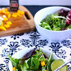 Jicama Mango Salad with Zesty Lime Vinaigrette