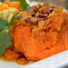 Sweet Potato Carrot Crisp