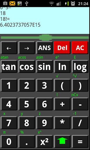 Calculatrice Sci-Calc