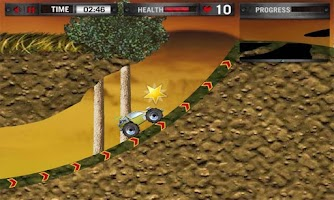 Screenshot of Monster Truck - Racing Game