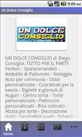 Screenshot of Un Dolce Consiglio