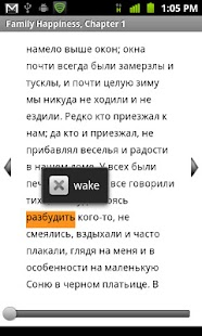 Read in Russian and English - screenshot
