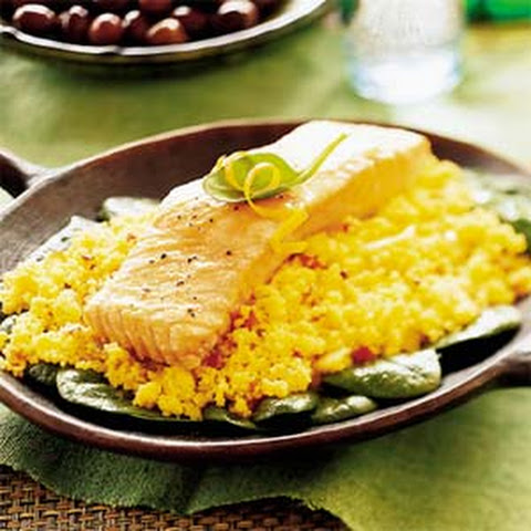 Spinach Couscous Salmon Recipes | Yummly