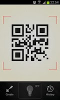 Screenshot of QR Barcode scanner +Flashlight